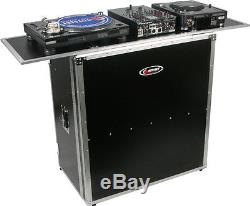 Odyssey Cases FZF5437T New Flight Zone 54X37 Foldout Collapsible Combo DJ Table