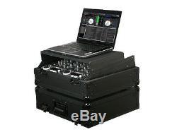 Odyssey Cases FZGS10BL New Black Label Glide Style Ata Flight Case For 19 Mixer