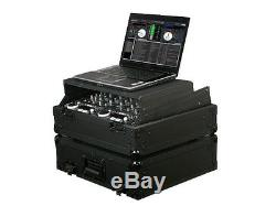 Odyssey Cases FZGS10BL New Black Label Glide Style Ata Flight Case For 19 Mixer