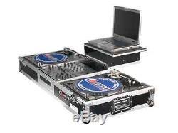 Odyssey Cases FZGSBM12W New Battle Mode DJ Case Laptop 12 Mixer & 2 Turntables