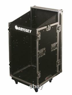 Odyssey Cases FZSRP1112W New Combo Rack Space Saver 11X12 With Casters & Brakes