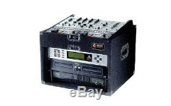 Odyssey Cases PRO108 New Pro Audio Combo Rack / Case With Removable Lid 10U X 8U