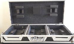 Odyssey Coffin Cases New 12 Mixer & 2 Large Format Cd Media Players