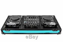 Odyssey FFX12CDJWXDBL 12 Format Mixer & 2x Large Tabletop Players Coffin