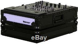 Odyssey FFX12MIXBL New 12 Inch DJ Effects Sound Mixer Case Flight Fx Series