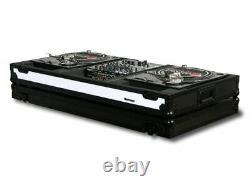 Odyssey FFXBM12WBL Flight FX Series 2x Battle Turntable +12 Mixer DJ Coffin