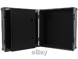 Odyssey FFXGS10BL Flight FX 10U Space 19 Mobile DJ Mixer Case with Laptop Shelf