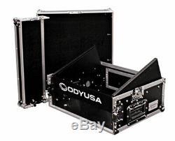Odyssey FR0802 8U x 2U Flight Ready DJ Combo Rack Case