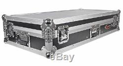Odyssey FR10CDJWE DJ Coffin with Wheels For 2 Large CD Players CDJ + 10 Mixer