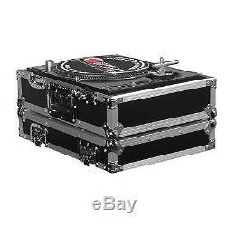 Odyssey FR1200E Flight Ready Turntable Cases (Two) & FR10MIXE 10 Mixer Case