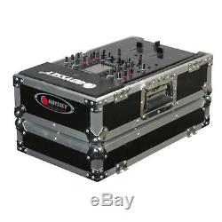 Odyssey FR1200E Flight Ready Turntable Cases (Two) & FR10MIXE 10 Mixer Case