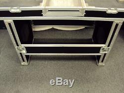 Odyssey FZ DJ 19 W DLX Dual Turntable /Mixer Coffin with stand