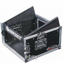 Odyssey FZ1004 10U Top Slanted 4U Vertical Pro ATA Portable Combo Rack(Open Box)