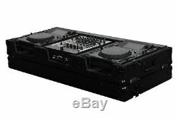 Odyssey FZ12CDJWBL 12 Format DJ Mixer and 2 Large Format Player All Black Rol