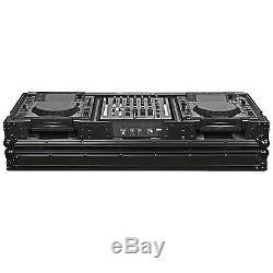 Odyssey FZ12CDJWBL Black Label 12 Mixer Dual Large Tabletop CDJ DJ Case