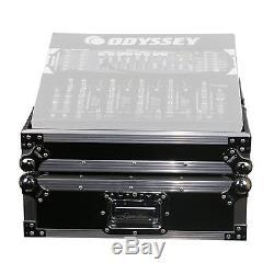 Odyssey FZ19MIX Flight Zone 10 Space 19 Inch Rackmount DJ Mixer Case