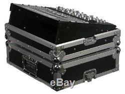 Odyssey FZ19MIX UNIVERSAL 19 RACK MOUNTABLE MIXER CASE 10U RACK SPACES