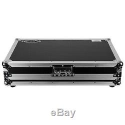 Odyssey FZDDJ1000 Pioneer DDJ-1000 Controller Case with Red TSA Lock