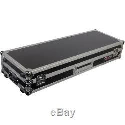 Odyssey FZDJ12W Flight Zone DJ 12 Mixer Turntable Coffin Case with Wheels