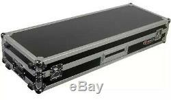 Odyssey FZDJ12W Flight Zone DJ 12 Mixer Turntable Coffin Case with Wheels New