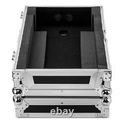 Odyssey FZDJMS11 Flight Road Case in Silver to fit Pioneer DJM-S11 Mixer