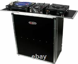 Odyssey FZF5437T Flight Zone 54x37 Foldout Collapsible Combo Pro DJ Table Stand