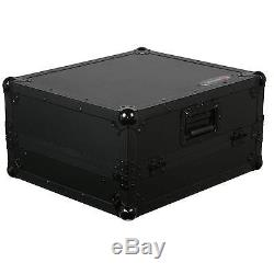 Odyssey FZGS10BL Black Label 10 Space 19 Rackmount Mixer Glide Style Case