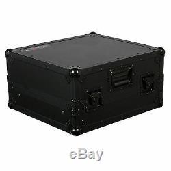 Odyssey FZGS10BL Black Label UNIVERSAL 10-Space 19 RACKMOUNT MIXER GLIDE CASE
