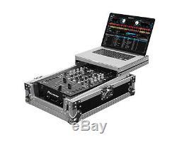 Odyssey FZGS10MX1 Flight Zone Glide Style 10 DJ Mixer Case with Laptop Tray
