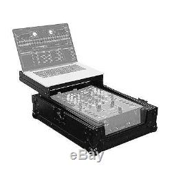 Odyssey FZGS10MX1BL Black Label Glide Style Low Profile 10 DJ Mixer Case