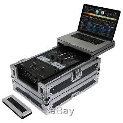 Odyssey FZGS10MX1XD Flight Zone Glide Style Universal 10 Format DJ Mixer Case