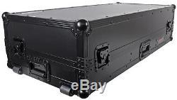 Odyssey FZGS12CDJWBL ATA Flight Case for Two (2) CD/J Media Players + 12 Mixer