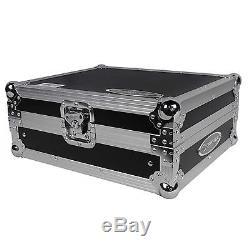 Odyssey FZGS12MX1 Flight Zone Low Profile Glide Style 12 DJ Mixer Case