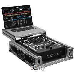 Odyssey FZGS12MX1 Universal Low Profile 12 Format DJ Mixer Flight Case