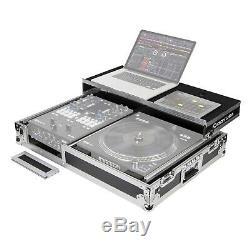 Odyssey FZGS1RA1272W DJ Coffin Glide Style Rane 12 / Rane 72 Combo Flight Case