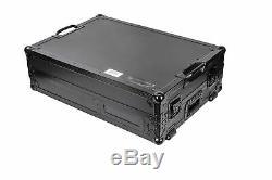 Odyssey FZGS1RA1272WBL Rane Seventy-Two Mixer & Rane Twelve All Black Compact