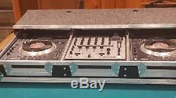 Odyssey FZGSP12CDJW Flight Zone 12 Mixer Glide Style Dual CDJ DJ Case