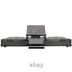 Odyssey FZGSRANE1272WBL Black Case for Rane Seventy-Two & Twelve w Laptop Shelf