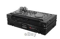 Odyssey FZPIDDJSXBL Pioneer DDJ-SX2 / DDJ-RX All Black Flight Case