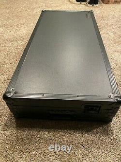 Odyssey Flight Case (for CDJ's + Mixer) Low Profile + LED Black