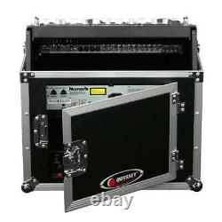 Odyssey Flight Ready ATA Top Slanted 6U-10U 6-10 Mixer Combo Rack (Open Box)