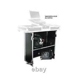 Odyssey Flight Zone 33 x 36 x 18.5 Deluxe Foldout DJ Stand for Coffins(Open Box)