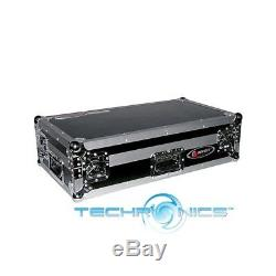 Odyssey Fzpi4400w Heavy Duty Flight Zone Mixer Dj Case Full Foam Lined Interior