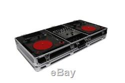 Odyssey K10PT01BLK 2x Numark PT01 Scratch & Compact 10 DJ Mixer Coffin