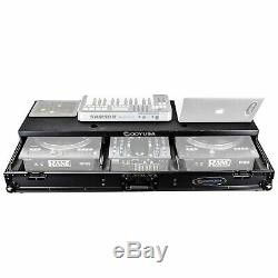 Odyssey Rane Seventy-Two Mixer & Twelve Turntable Glide Style Flight Case Black