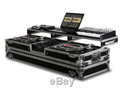 Odyssey Remixer Glide Style Series Dj Coffin For A 10 Mixer & 2 Turntables NEW