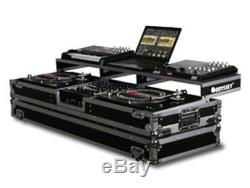 Odyssey Remixer Glide Style Series Dj Coffin For A 12 Mixer & 2 Turntables NEW