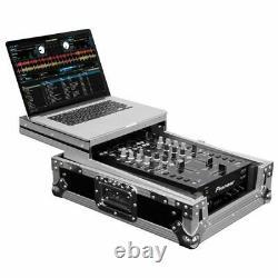 Odyssey Univeresal Low Profile 10 Format DJ Mixer Flight Case withGlide Platform