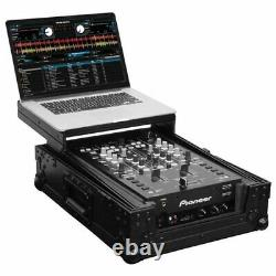 Odyssey Universal Black 10 Format DJ Mixer Flight Case withGlide Platform