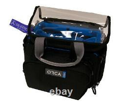 Orca OR-28 Mini Audio Bag Zoom F8n/F8/F4 & SD MixPre-3/6 withTAI Audio Cable Strap